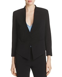 Dylan Gray Angled Hem Blazer 100 Exclusive Black