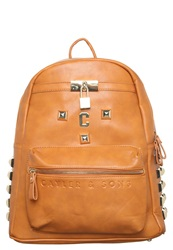 Cayler And Sons Upgrade Rucksack Cognac Goldcoloured