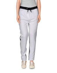 Zoe Karssen Trousers Casual Trousers Women White