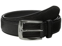Stacy Adams 32Mm Lizard Skin Embossed Leather Black Men's Belts