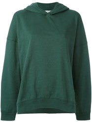 Closed Plain Hoodie Green