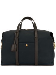 Mismo Top Zip Holdall Blue