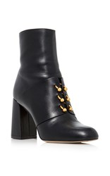 Red Valentino Short Ankle Bootie Black
