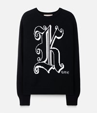 Christopher Kane Crewneck Jumper Black