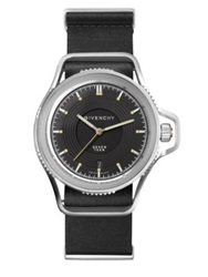 Givenchy Seventeen Stainless Steel Watch Black Silver
