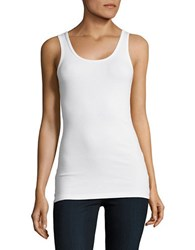 Tommy Bahama Ribbed Tank Top White