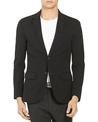 Polo Ralph Lauren Knit Cotton Blend Regular Fit Blazer Polo Black
