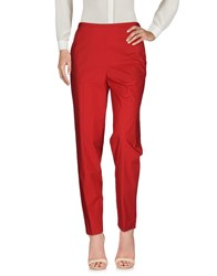 Fabrizio Lenzi Casual Pants Brick Red