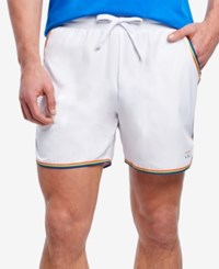2Xist 2 X Ist Men's Rainbow Pride Jogger Shorts White