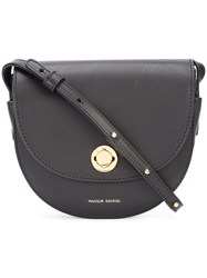 Mansur Gavriel Classic Saddle Bag Black