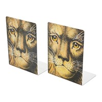 Fornasetti Leone Bookends