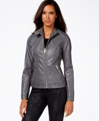 Inc International Concepts Faux Leather Jacket Only At Macy's