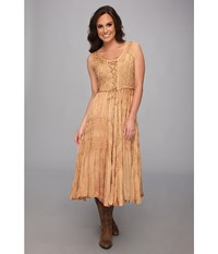 Scully Honey Creek Amelie Dress Beige Women's Dress