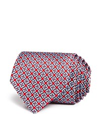 Bloomingdale's The Men's Store At Linked Square Chain Classic Tie 100 Exclusive Red