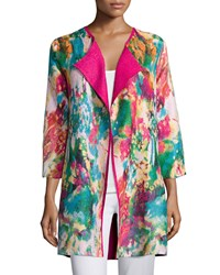 Berek Watercolor Crinkled Reversible Jacket Women's Multi