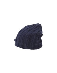 Roberto Collina Hats Dark Blue