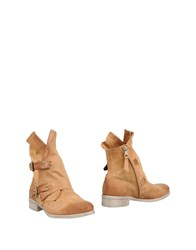 Mjus Ankle Boots Camel