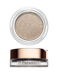 Clarins Ombre Iridescent Cream To Powder Iridescent Eye Shadow 04 Silver Ivory