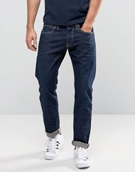 Edwin Ed 55 Rainbow Selvedge Tapered Fit Jeans Blue