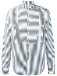 Loewe Stripe Panel Shirt White