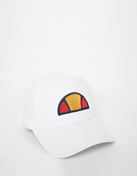Ellesse Cap In Canvas White