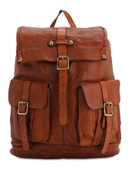 Campomaggi Leather Backpack Bordeaux
