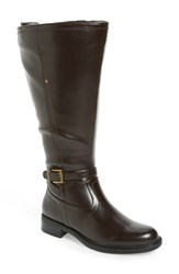 David Tate Women's 'Valley 18' Boot Brown Leather