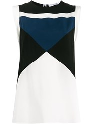 Givenchy Colour Block Vest White
