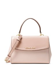Michael Kors Smooth Leather Satchel Ballet