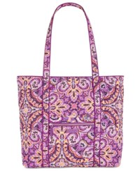 Vera Bradley Iconic Large Tote Dream Tapestry Silver