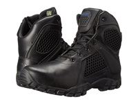Bates Footwear 6 Strike Side Zip Black Men's Work Boots