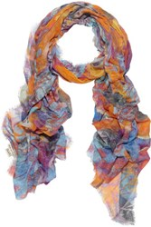 Lily And Lionel Cyber Butterfly Printed Scarf