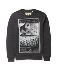 Solid Block Print Sweatshirt