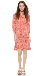Paul Smith Buttondown Shirtdress Orange
