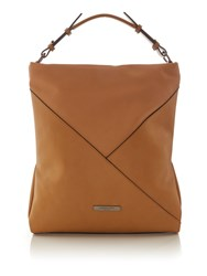 Kenneth Cole Harper Hobo Bag Tan