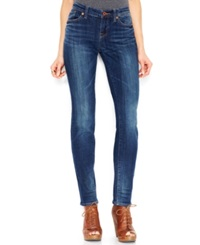 Lucky Brand Mid Rise Straight Leg Jeans Lapis Lazuli Wash