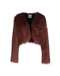 Si Jay Coats And Jackets Faux Furs Pastel Pink