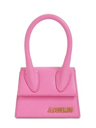 Jacquemus Le Chiquito Grained Leather Bag Pink