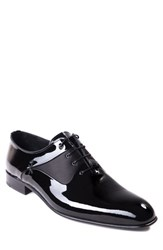 Jared Lang 'S Ricci Plain Toe Oxford Black