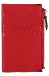 Lodis Women's Audrey Ina Card Case Red
