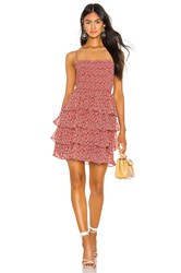 The Jetset Diaries Love Is In Air Mini Dress Red