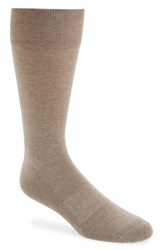 Men's Nordstrom 'Cushion Foot Arch Support' Socks Beige 3 For 30 Taupe Heather