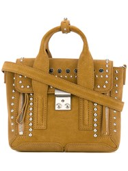 3.1 Phillip Lim Pashli Mini Satchel Brown