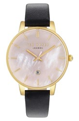 Ted Baker Women's London Kate Leather Strap Watch 40Mm