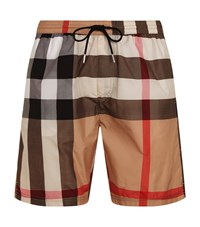 Burberry House Check Swim Shorts Male Neutral