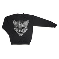 We Are Still Bold And Beautiful Wild Cat Black Sweatshirt