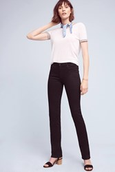 Anthropologie Ag Harper Mid Rise Jeans Black
