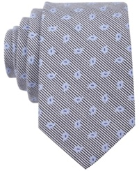 Bar Iii Carnaby Collection Swan Pine Skinny Tie Navy