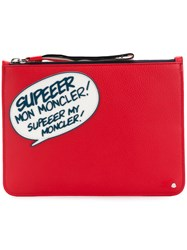Moncler Comic Clutch Red