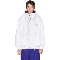 Y Project White Oversized Track Jacket